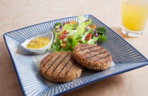 Receita de hamburguer de soja - Comida na Mesa