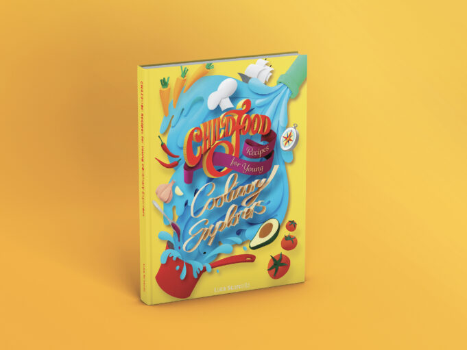 livro de culinária infantil Childfood
