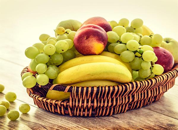Armazenar corretamente as frutas
