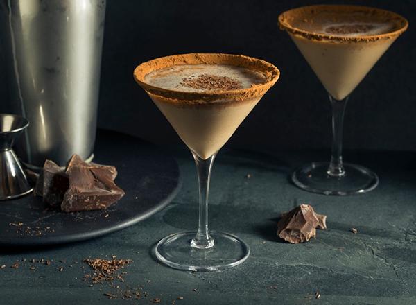 Receita de Martini de chocolate com pimenta