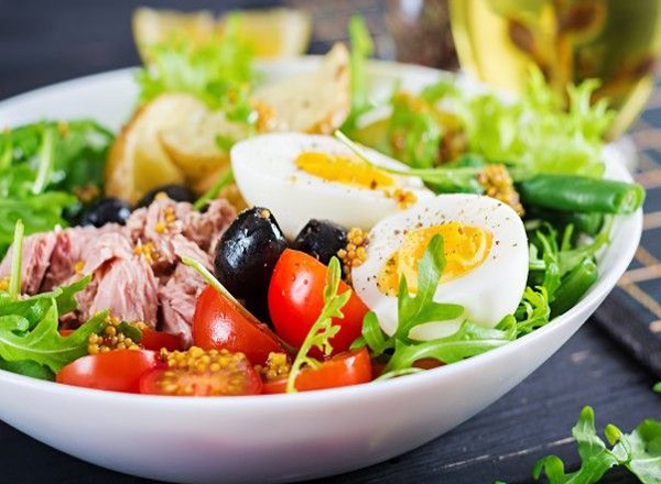 Prato colorido é sinônimo de alimentação saudável