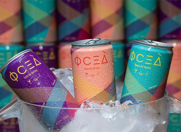 Oceà é o primeiro drink em lata à base de vinho do Brasil