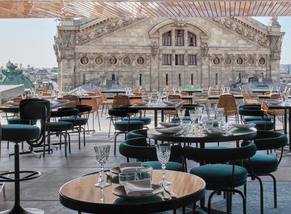restaurante Tortuga, recém-instalado no terraço da Galeries Lafayette, em Paris