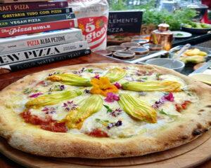 Receita de PIZZA DE FLOR DE ABÓBORA Chef Gino Contin