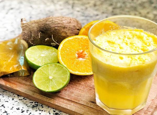 receita Suco para turbinar o coração e aumentar a imunidade
