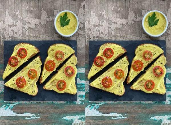 Receita de torrada com abacate