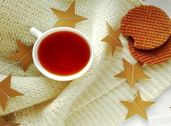Receita de chá de cacau