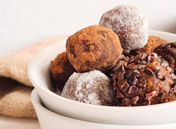 Receita de Trufas saudáveis sem açúcar
