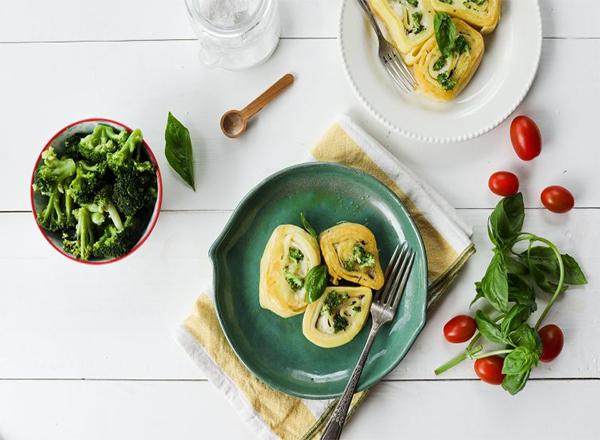 Rondelli de brócolis com ricota é opção leve para a segunda sem carne