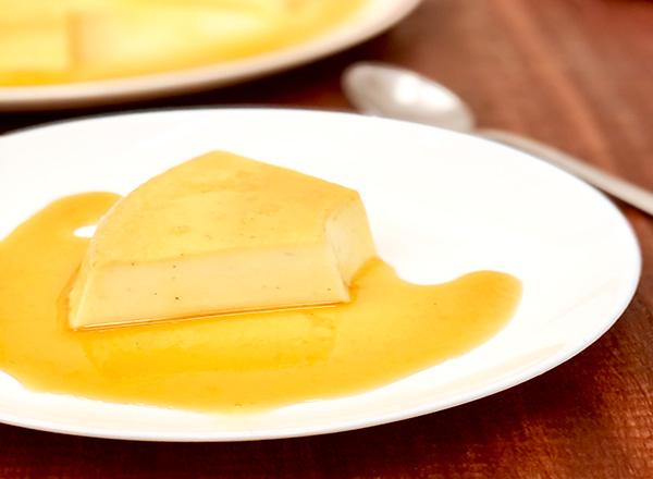 Receita de Pudim de Caramelo salgado sem forno e em 30 minutos