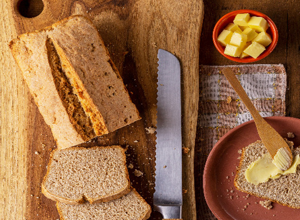 Receita Pão Rápido (Soda Bread) para fazer em casa